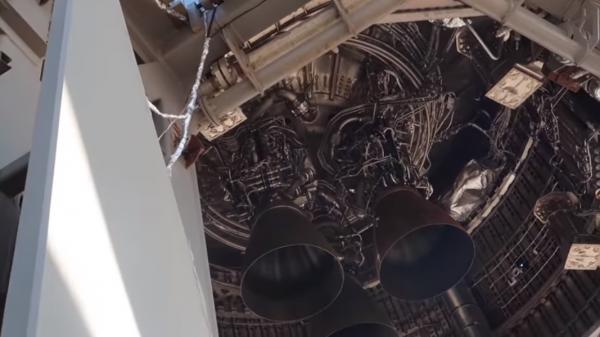 Starship SN11 Raptor Engines
