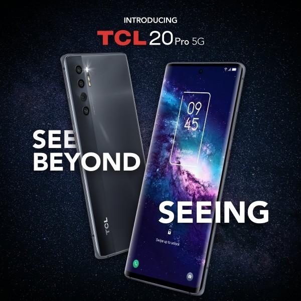 TCL 20 Pro 5G Teaser Photo