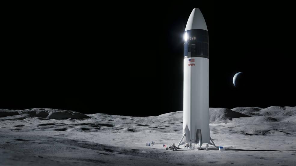 SpaceX NASA Artemis Moon Mission