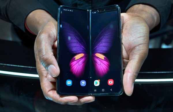 The Galaxy Fold 5G on Display