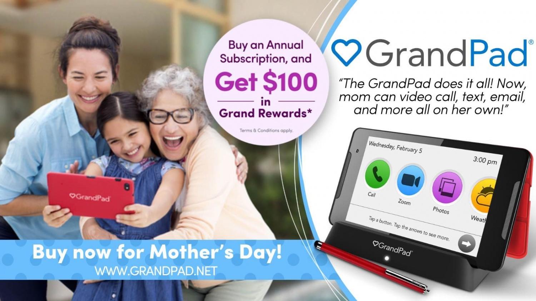 GrandPad Grand Rewards Promo