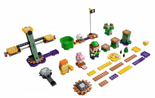 LEGO Luigi Starter Course Kit Inclusions