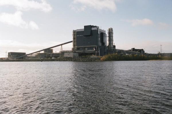 Outokumpu mill in Tornio