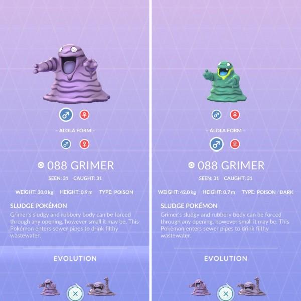Pokemon GO Shiny Grimer