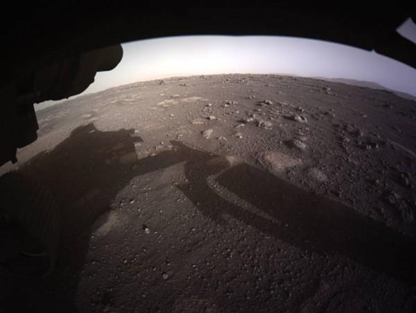 nasa mars rover surface