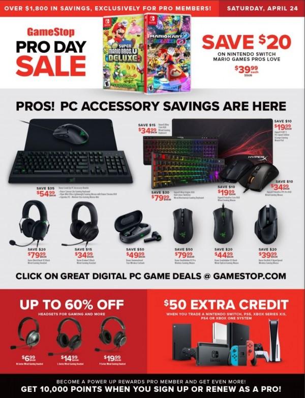 GameStop Pro Day Sale (1)