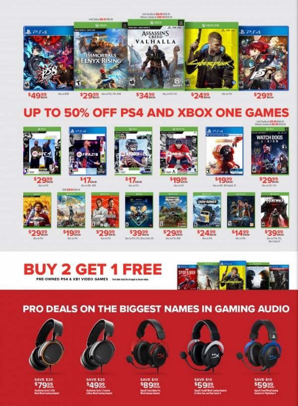 GameStop Pro Day Sale (2)