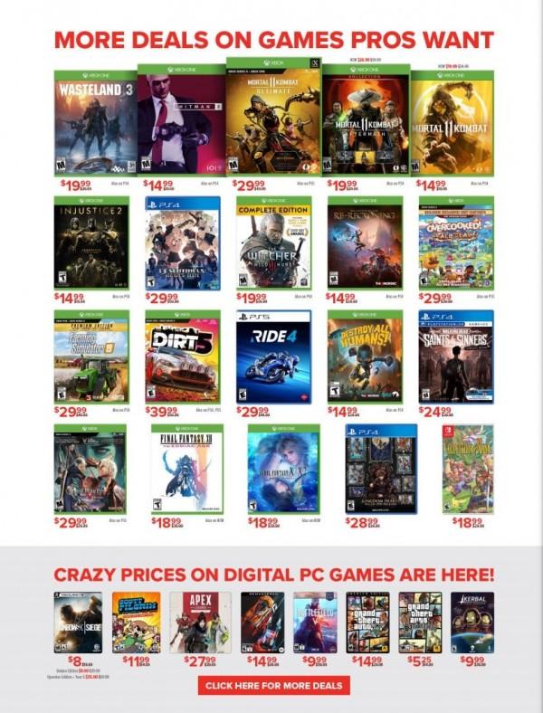 GameStop Pro Day Sale (5)
