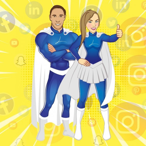 LinkedSuperPowers: Unleash your LinkedIn Superpowers with Dennis Koutoudis, Emily Pappas and their team