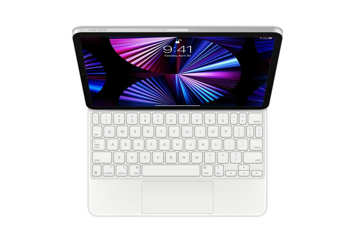 The iPad Pro with Magic Keyboard
