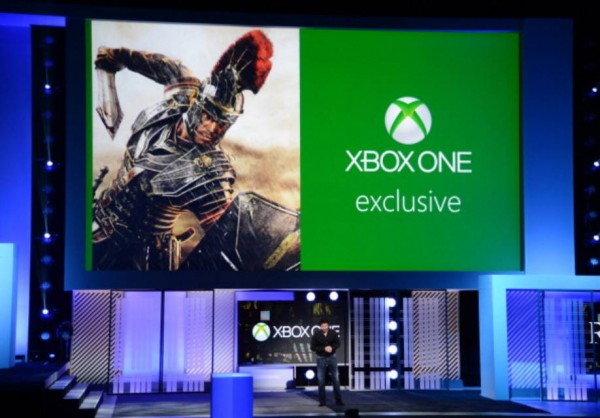 xbox one exclusive ryse being presented