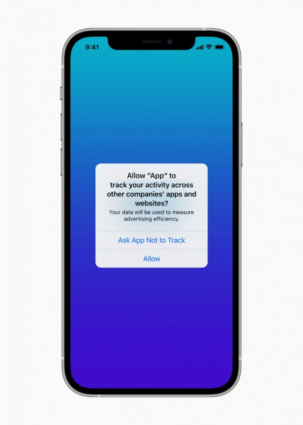 Ask App Not to Track Feature iOS 14.5