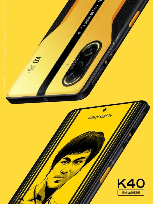Redmi K40 Exclusive Bruce Lee Special Edition