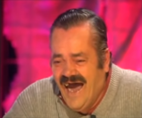'El Risitas' During an Interview at Late-Night Talk Show Ratones Coloraos