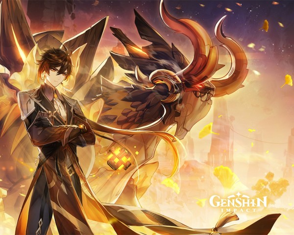 'Genshim Impact' 1.5: What to Know About Azhdaha's Teaser Trailer and How to Get Zhongli-Themed Wallpaper