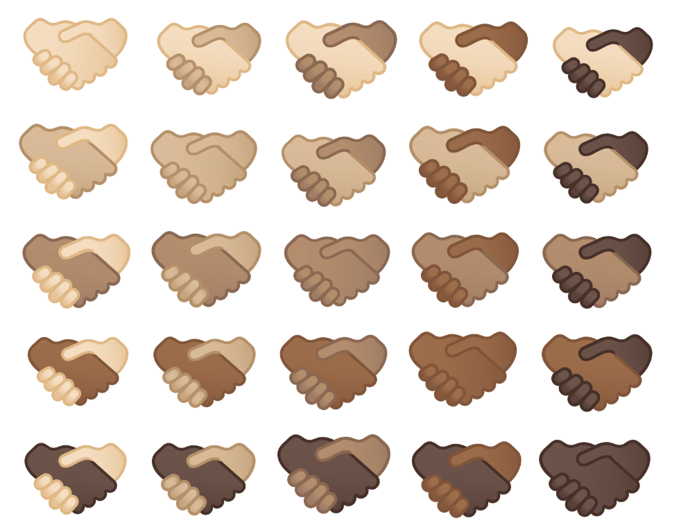 Google Is Releasing a More Inclusive Handshake Emoji, Includes Multi-Skin Tone Options
