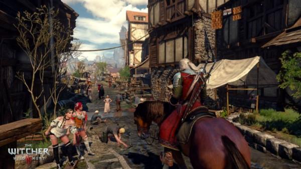 Capture d'écran de witcher 3