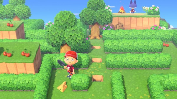 'Animal Crossing: New Horizons' Landscaping Feature