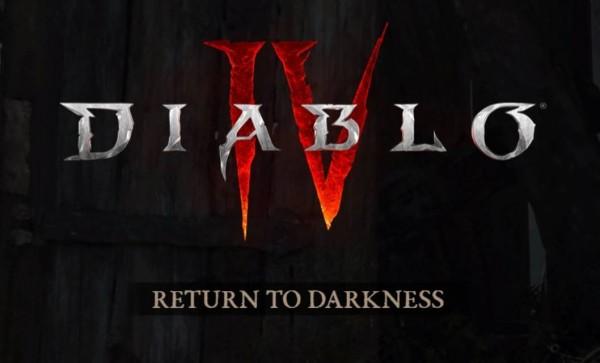 Diablo screen