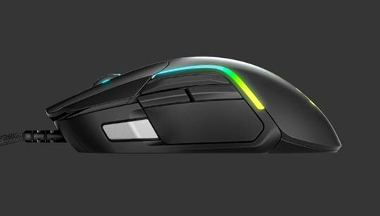 SteelSeries' Rival 5 Side Profile