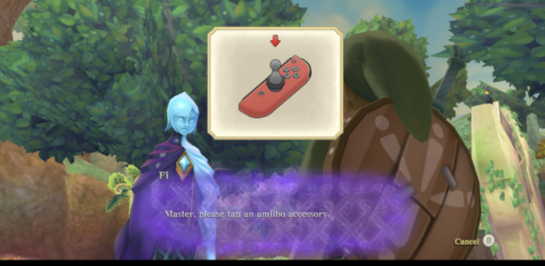 Amiibo Control The Legend of Zelda Skyward Sword HD