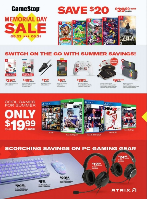 GameStop Memorial Day Sale (1)