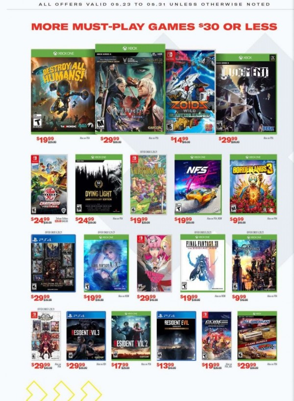 GameStop Memorial Day Sale (6)