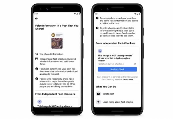 Facebook Misinformation