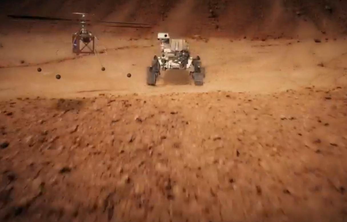 NASA Mars Ingenuity Helicopter Endures Sixth Flight Despite Malfunction