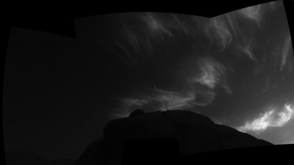 NASA Curiosity Team Discovers 'Mother of Pearl' Clouds on Mars--Iridescent Cloud Formation is Colorful in Martian Sky