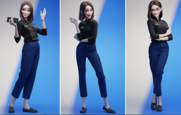 Samsung Allegedly Releasing Sam Virtual Assistant 3D Version: Here's Her First Look