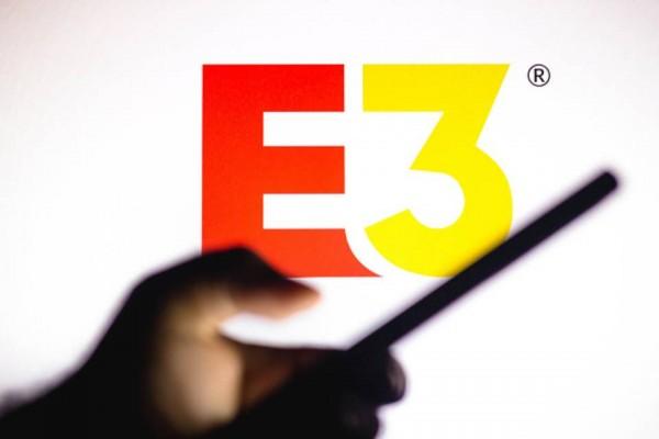 E3 logo phone
