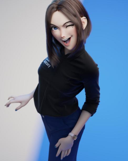 Samsung Sam Virtual Assistant: Twitch Streamer Vylerria