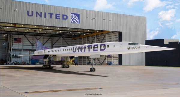 Overture Could Arrive by 2025: United to Buy 15 Units of This Supersonic Commercial Jet