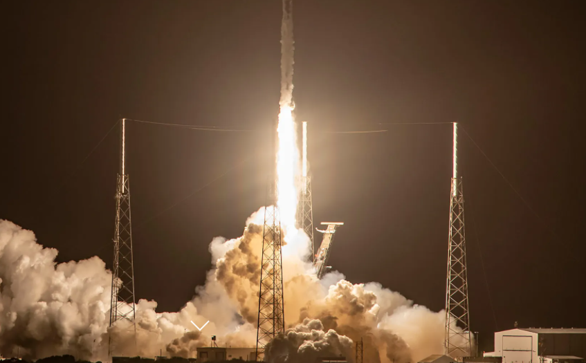 Falcon 9's Launch for Sirius XM