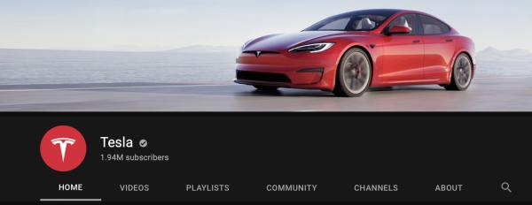 Tesla Model S YouTube
