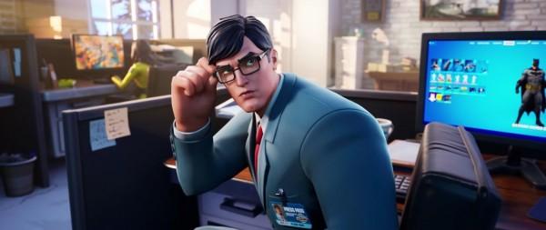Clark Kent in Fortnite