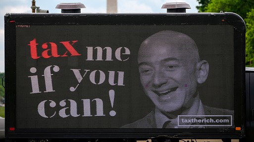 Elon Musk, Jeff Bezos, and others fail to pay their income tax.