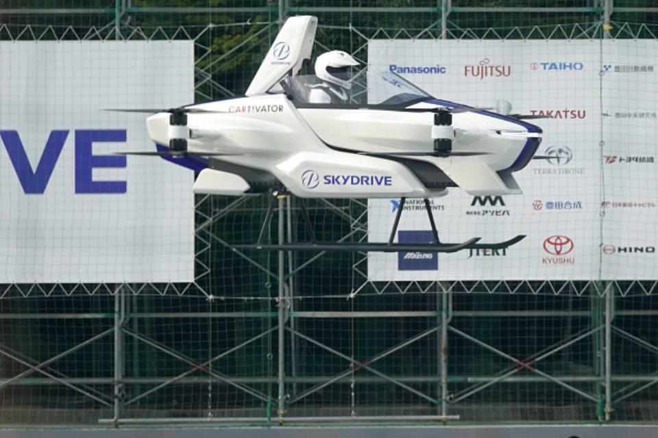 Flying car japan