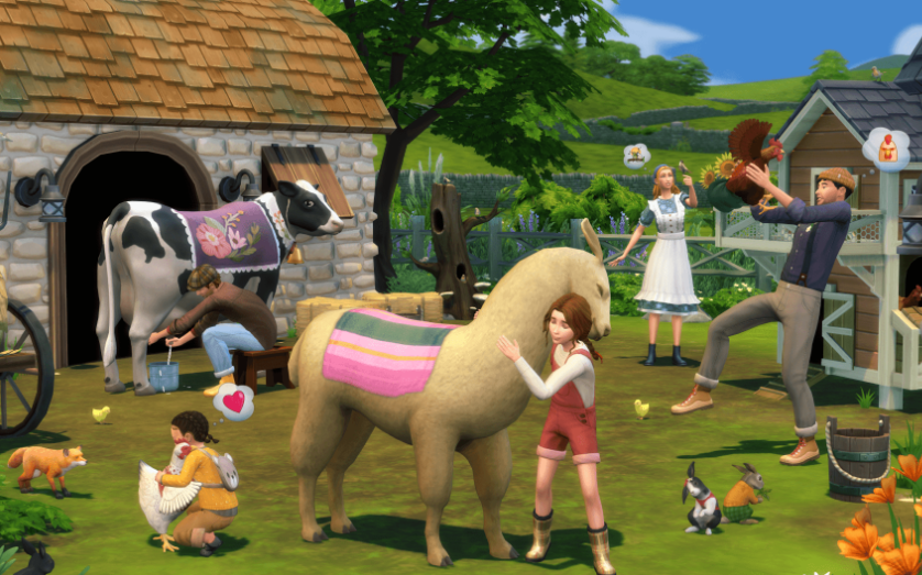 'The Sims 4' Cottage Living Teases Alice-Like World with Delightful Henford-on-Bagley Town