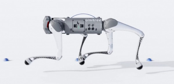 Unitree Go1 Robot Could Carry a Bottle of Water Just For You