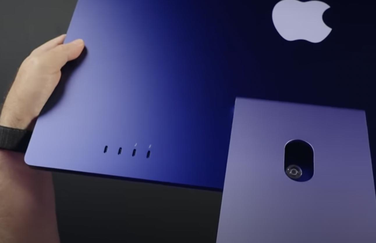 Apple iMac M1 2021 Crooked Mounts