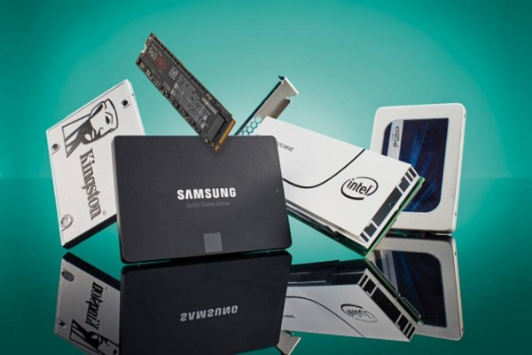 Solid state drive photoshoot