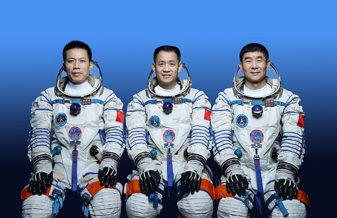 China Space Crew to Head to Chinese Space Station Shenzhou-12 at 9:22 AM GMT  June 17, 2021