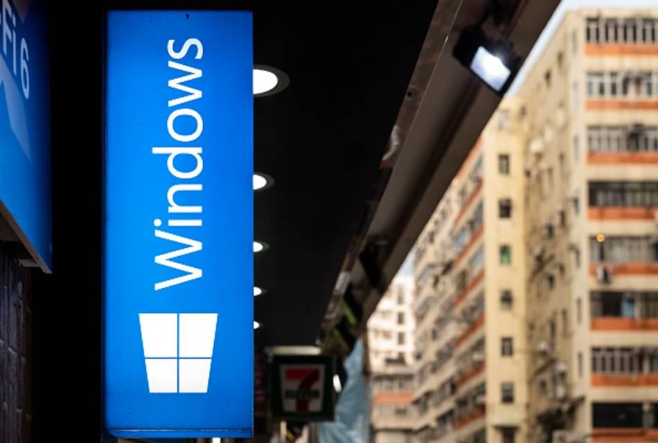 Windows 11 signage
