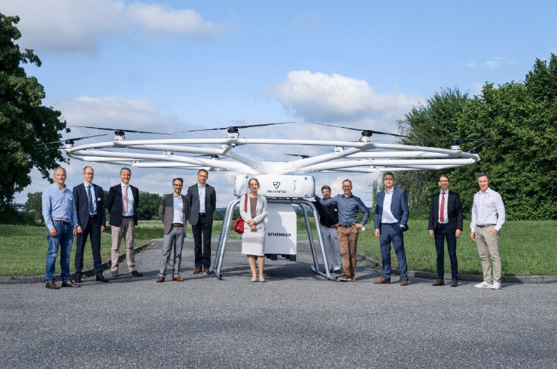 Volocopter's VoloCity Flying Taxi Will Welcome the 2024 Olympics | Specs and Details