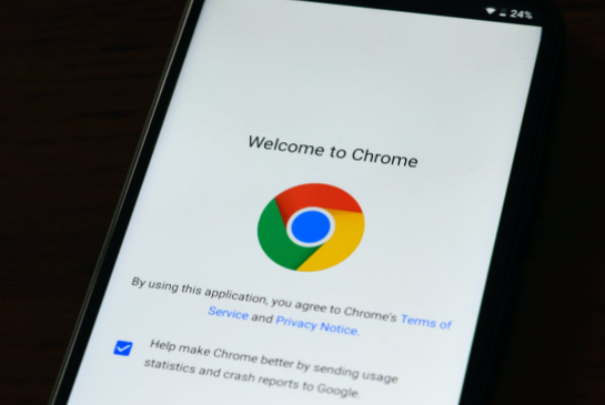 Google Chrome Android RSS
