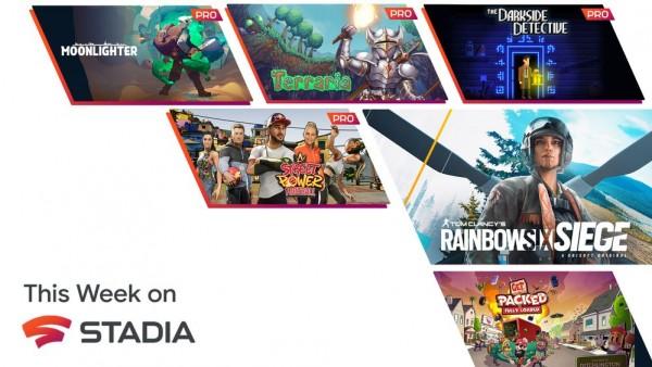 Google Stadia's July Games