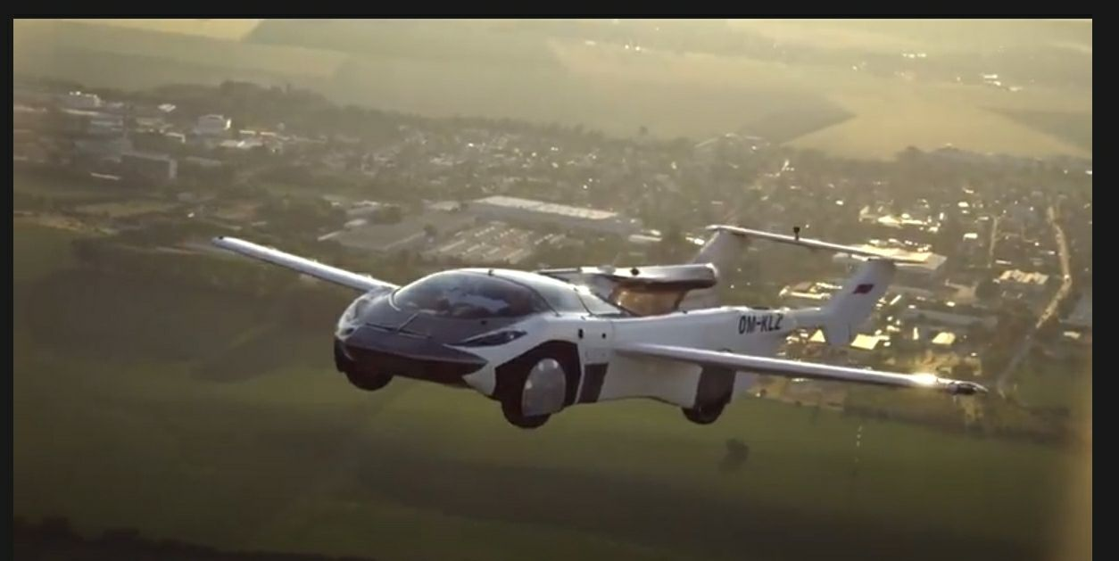 Klein Vision's Flying Car's First Inter-City Flight | Watch it Here