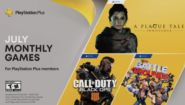 PlayStation Plus Free Games July